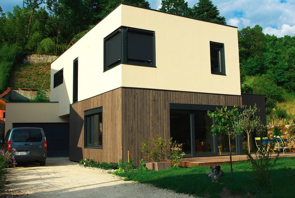 portes ouvertes d 39 une maison passive sign e rh ne toitures. Black Bedroom Furniture Sets. Home Design Ideas